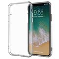 iPhone X Anti-Slip Crystal TPU Case - Transparent