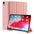 Dux Ducis Domo iPad Air (2020) Tri-Fold Folio Case - Rose Gold