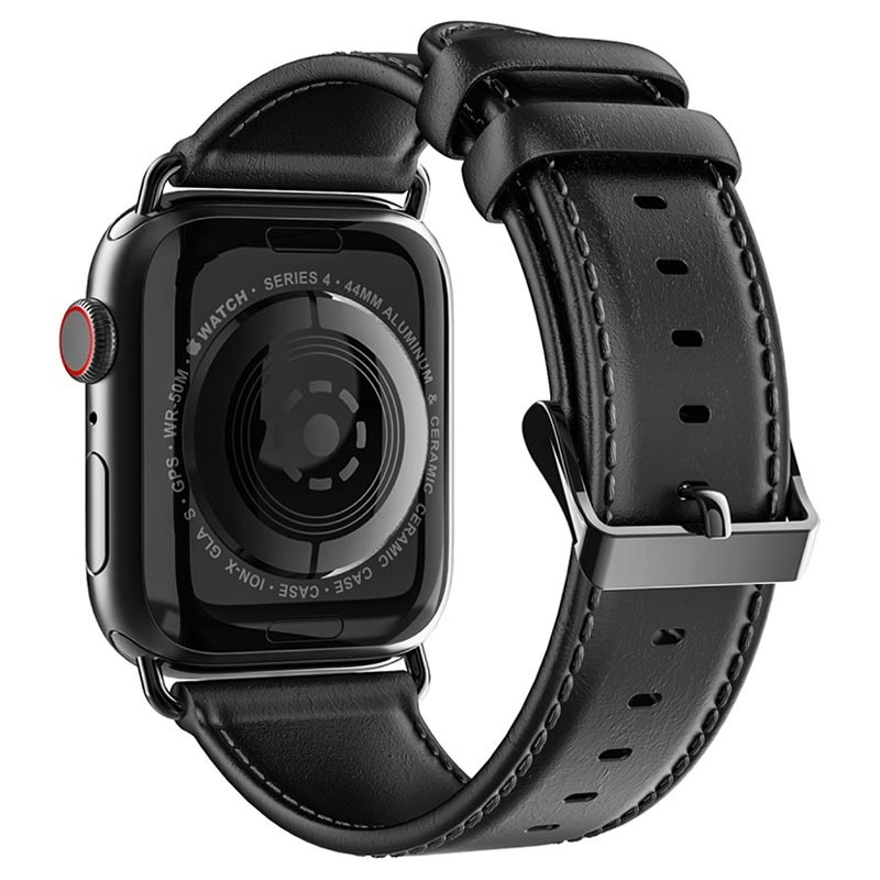 Dux Ducis Apple Watch Series 5/4/3/2/1 Leather Strap - 38mm, 40mm
