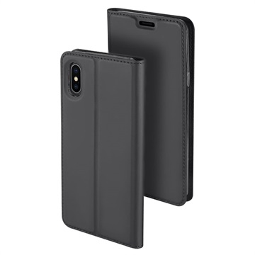 Dux Ducis Skin Pro iPhone XS Max Flip Case with Card Slot