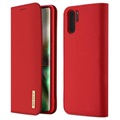 Dux Ducis Wish Samsung Galaxy Note10+ Wallet Leather Case - Red