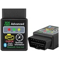 ELM327 V2.1 Bluetooth OBD2 Car Fault Diagnostic Tool - Black
