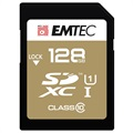 Emtec Elite Gold UHS-I U1 SD Card - ECMSD128GXC10GP