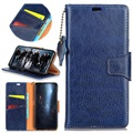 Huawei Honor View 10 Exclusive Wallet Leather Case - Blue
