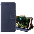 Huawei Mate 10 Pro Exclusive Wallet Leather Case - Blue