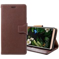 Huawei Mate 10 Pro Exclusive Wallet Leather Case - Coffee
