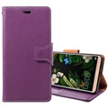 Huawei Mate 10 Pro Exclusive Wallet Leather Case - Purple