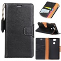 Sony Xperia XA2 Exclusive Wallet Leather Case - Black