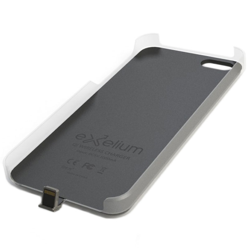 meet 56144 f4fbc iPhone 5/5S/SE Exelium Magnetic Wireless Charging Case