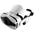 "Fiit VR 5F Virtual Reality 3D Glasses with Headphones - 4""-6.3"""