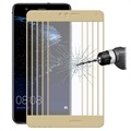 Huawei P10 Lite Hat Prince 0.26mm 9H Full Size Tempered Glass - 5 Pcs. - Gold