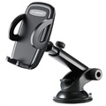 Floveme Universal Car Holder with Suction Cup - 3.8-6.5 - Black
