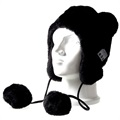 Fluffy Beanie Hat Bluetooth Headset