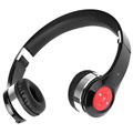 Foldable Bluetooth Stereo Headset - Black