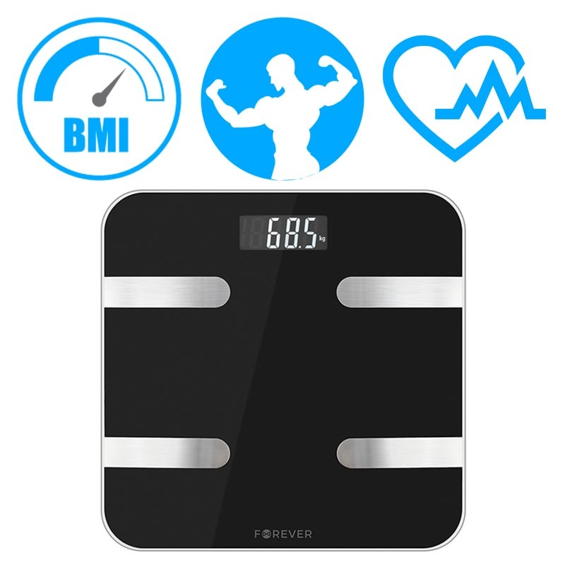 Forever AS-100 Analytical Smart Body Fat Scale