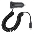 Forever M-01 Lightning Car Charger - iPhone, iPad, iPod - 2.1A - Black