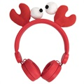Forever Sweet Animal AMH-100 Stereo Headphones - Craby