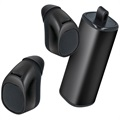 Forever TWE-200 True Wireless Earbuds with Charging Case - Black