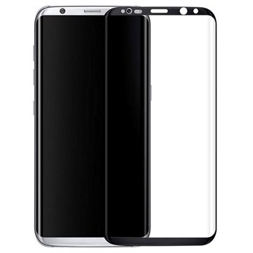 Samsung Galaxy S8 Full Coverage Tempered Glass Screen Protector