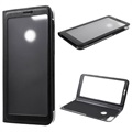 Full View Series Huawei P Smart Folio Case - Black
