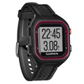 Garmin Forerunner 25 GPS Running Watch - Large - Black / Red