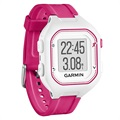 Garmin Forerunner 25 GPS Running Watch - Small - White / Pink