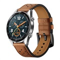 Huawei Watch GT Perforated Genuine Leather Strap - Brown