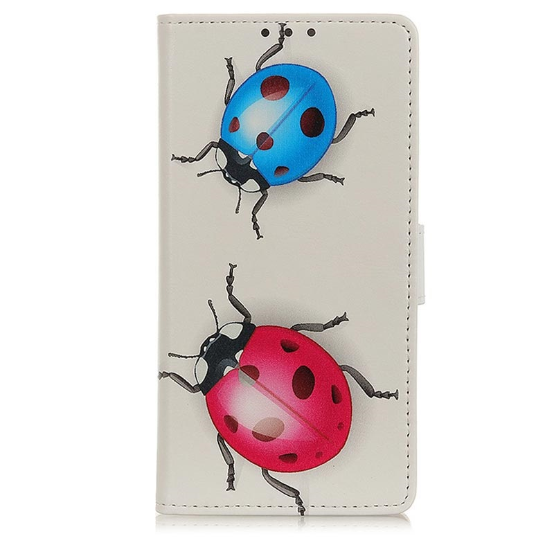 Glam Series Samsung Galaxy A10 Wallet Case - Ladybugs