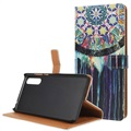 Huawei P20 Glam Wallet Case - Dreamcatcher