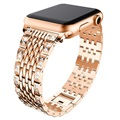 Apple Watch Series SE/6/5/4/3/2/1 Glam Strap - 44mm, 42mm - Rose Gold