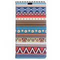 Huawei Honor 9 Glam Wallet Case - Tribal