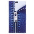 Huawei Honor 9 Glam Wallet Case - Zipper