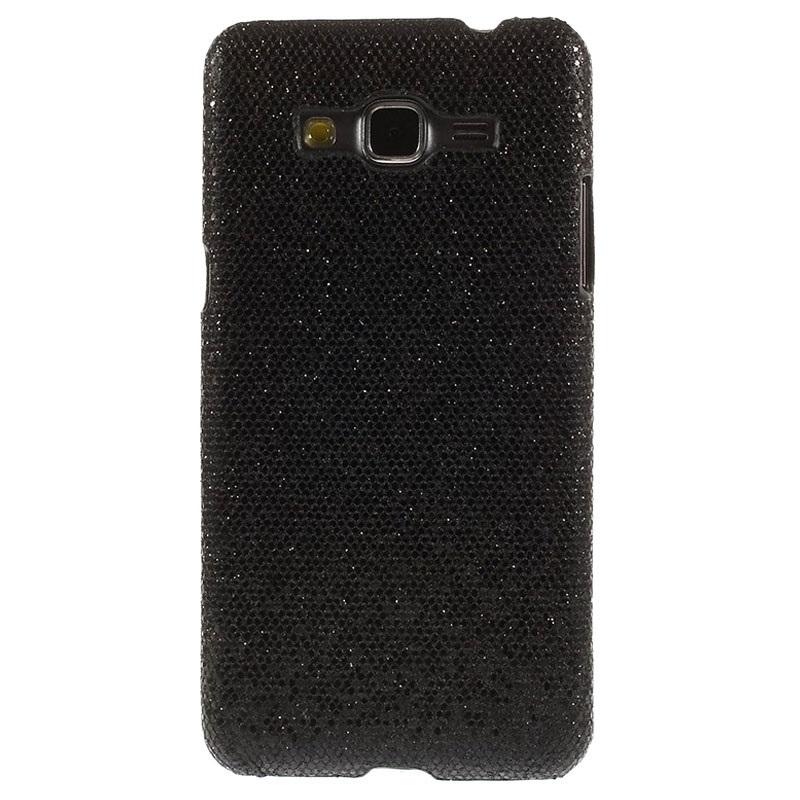 Samsung Galaxy Grand Prime Hard Case - Glitter - Black