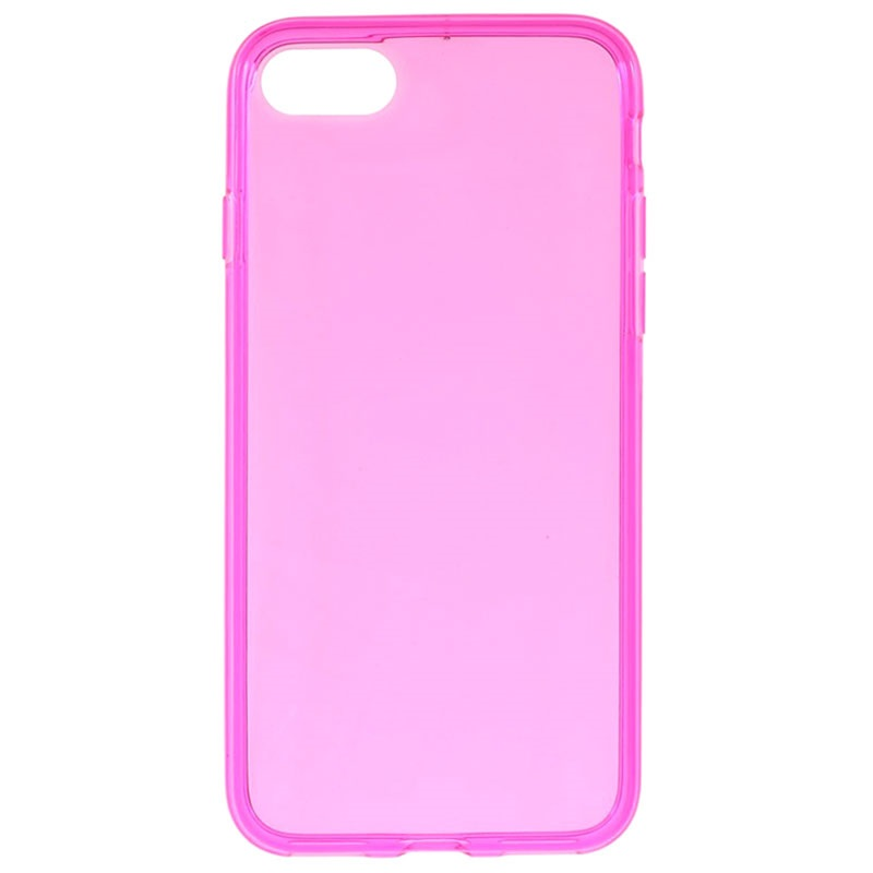 iphone 7 iphone 8 glossy tpu case hot pink. Black Bedroom Furniture Sets. Home Design Ideas