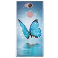 Luminous Sony Xperia XA2 TPU Case - Blue Butterfly