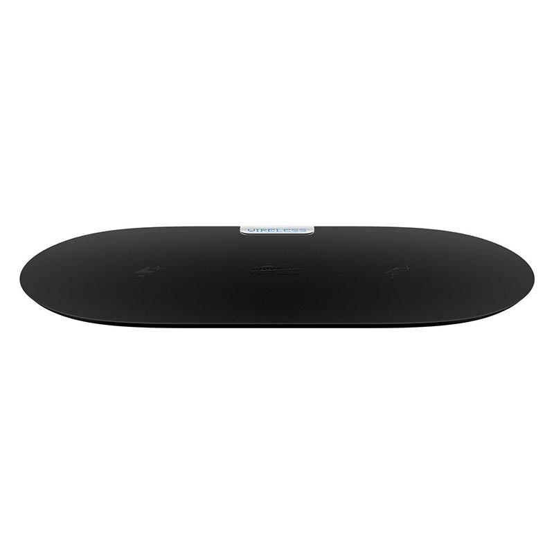 Goobay Dual Fast Qi Wireless Charging Pad - 10W - Black
