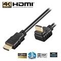 Goobay High Speed HDMI Cable with Ethernet - 270° Rotated - 2m