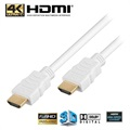 High Speed HDMI / HDMI Cable - White