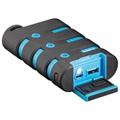 Goobay Outdoor Power Bank - 10050mAh - Black / Blue