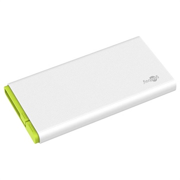 Goobay Power Bank 10.0 with MicroUSB Cable - 2 x USB-A - 10000mAh
