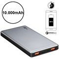 Goobay Quick Charge Power Bank - Dual USB, Type-C - 10000mAh