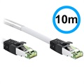 Goobay S/FTP CAT8.1 Network Cable - 10m - White