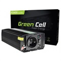Green Cell INV04 Car Voltage Inverter - 24V-230V - 500W/1000W