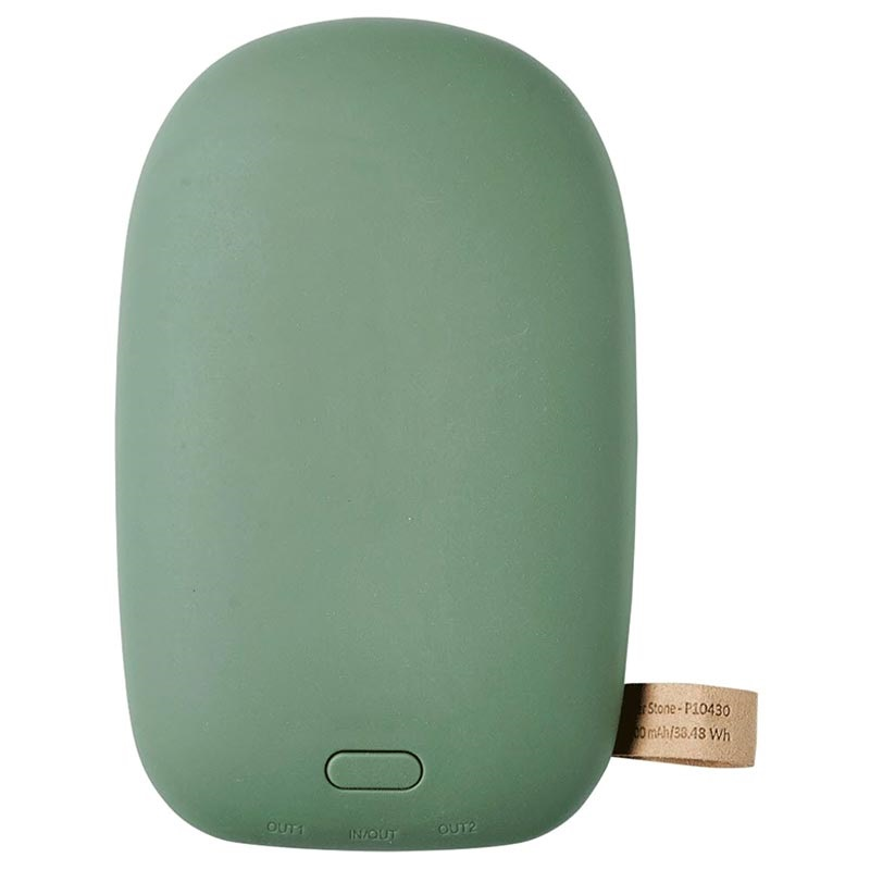 GreyLime Power Stone II Power Bank - 10400mAh, 18W - Green