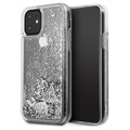 Guess Glitter Collection iPhone 11 Case - Silver