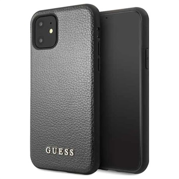 Guess Iridescent Collection iPhone 11 Case - Black