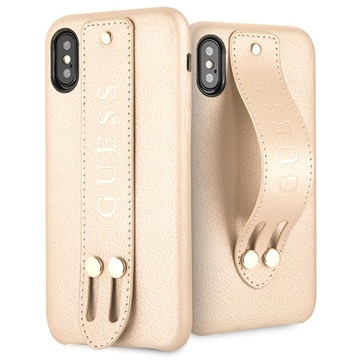 Guess Saffiano Strap iPhone X / iPhone XS Case