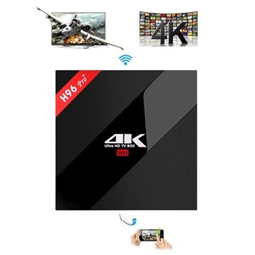 H96 Pro+ 4K Ultra HD Android TV Box