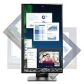 "HP VH240a 23.8"" FHD IPS LED Monitor - Black"
