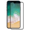iPhone X Hat Prince 3D Full Size Tempered Glass Screen Protector - Black